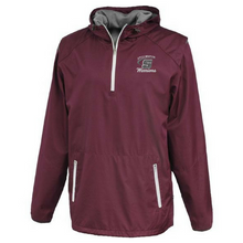 Load image into Gallery viewer, Stillwater Warriors Hooded 1/4 Zip Windbreaker- 2 Colors