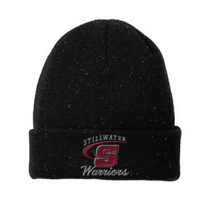 Stillwater Warriors Speckled Beanie- 2 Colors