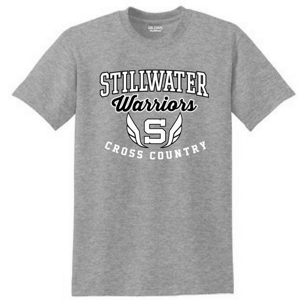 Stillwater Cross Country Cotton Tee- Youth & Adult, 2 Colors