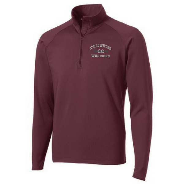 Stillwater Cross Country 1/4 Zip Performance Pullover- Ladies & Men's