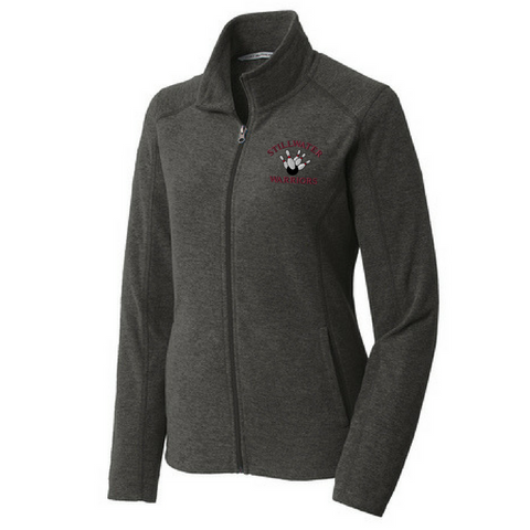 Stillwater Bowling Heathered Full Zip Fleece- Ladies & Men's, 2 Colors
