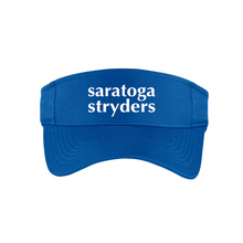 Load image into Gallery viewer, Saratoga Stryders Performance RacerMesh Visor