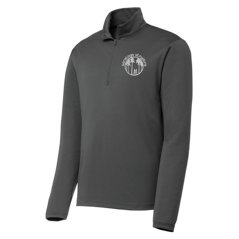 Saratoga Stryders Long Sleeve Lightweight Zip Pullover- Ladies & Men's, 2 Colors