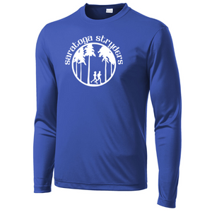 Saratoga Stryders Long Sleeve Performance Tee - Youth, Ladies, & Men's