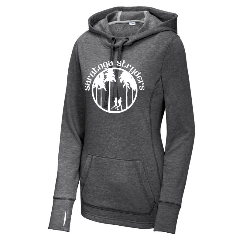 Saratoga Stryders Tri-Blend Fleece Hoodie- Ladies & Men's, 2 Colors