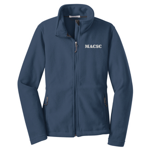 MACSC Full Zip Fleece- Youth, Ladies, & Men's, 4 Colors