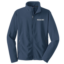 Load image into Gallery viewer, MACSC Full Zip Fleece- Youth, Ladies, & Men's, 4 Colors