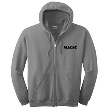 Load image into Gallery viewer, MACSC Full Zip Hoodie- Youth & Adult, 4 Colors