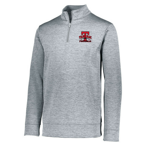Tamarac Football 1/4 Zip Heather Performance Pullover- Ladies & Men's, 3 Colors