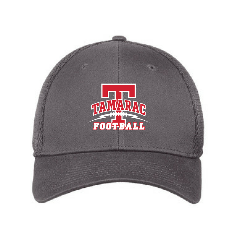 Tamarac Football Fitted Stretch Mesh Back Hat- 4 Colors