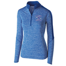Load image into Gallery viewer, Saratoga Softball Heather Lightweight 1/4 Zip Pullover- Youth, Ladies, & Men's, 3 Colors