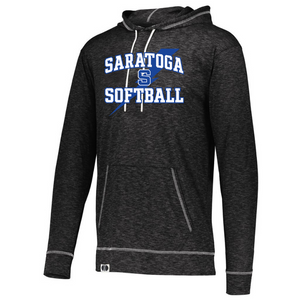Saratoga Softball Lightweight Hooded Long Sleeve- Ladies & Men's, 3 Colors