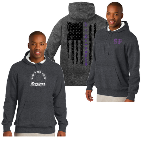 NYS Troopers Hooded Pullover Sweatshirt- 2 Logo Options