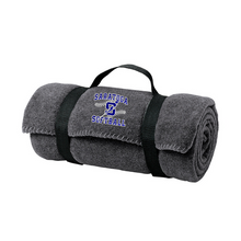 Load image into Gallery viewer, Saratoga Softball Fleece Blanket- 4 Colors