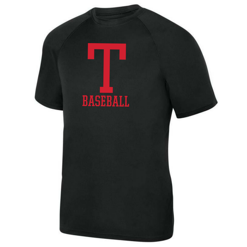Tamarac Baseball Short Sleeve Performance Tee- Youth, Ladies, & Men's, 3 Colors