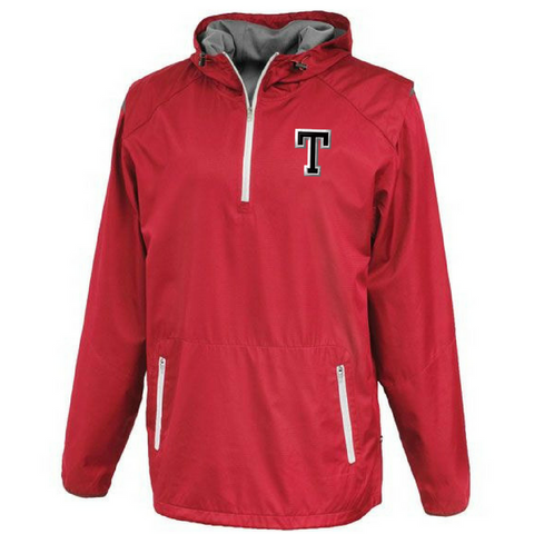 Tamarac Baseball Hooded 1/4 Zip Windbreaker- 2 Colors