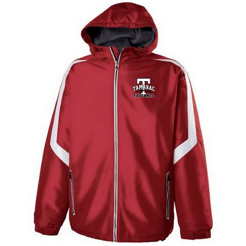 Tamarac Football Hooded Full Zip Jacket- Youth & Adult, 2 Colors