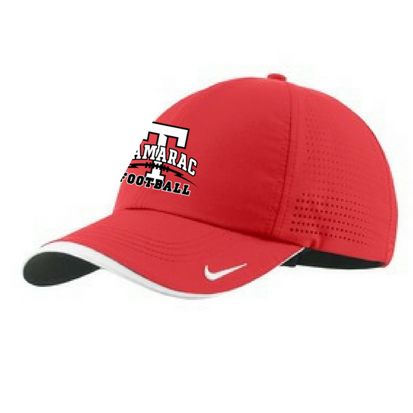 Tamarac Football Adjustable Performance Hat- 2 Colors