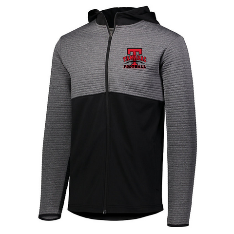 Tamarac Football Textured Full Zip Performance Jacket- 3 Colors