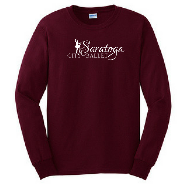 Saratoga Ballet Long Sleeve Shirt- YOUTH & Adult, 3 Colors