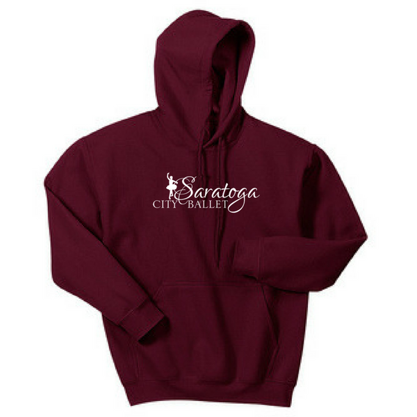 Saratoga Ballet Hoodie- Youth & Adult, 3 Colors