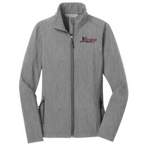 Saratoga Ballet Soft Shell Jacket- YOUTH, Ladies & Men's, 2 Colors