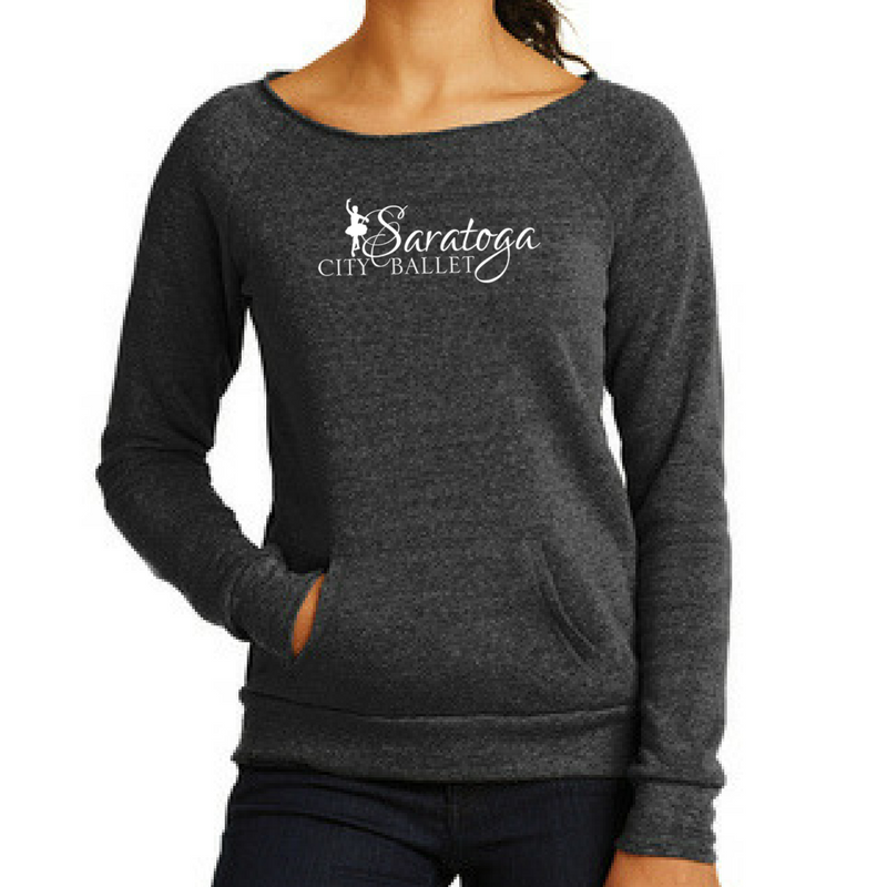 Saratoga Ballet Ladies Off-The-Shoulder Long Sleeve- 2 Colors