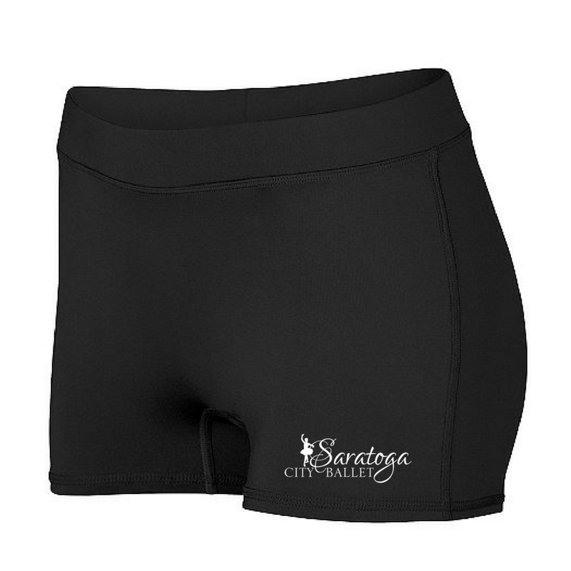 Saratoga Ballet Spandex Shorts- GIRLS & Ladies