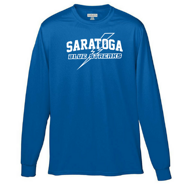 Saratoga Long Sleeve Performance Shirt- Youth, Ladies & Men's, 3 Colors