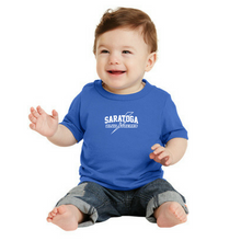 Load image into Gallery viewer, Saratoga Blue Streaks Toddler/Infant T-shirt- 3 Colors