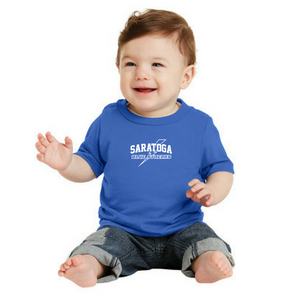 Saratoga Blue Streaks Toddler/Infant T-shirt- 3 Colors