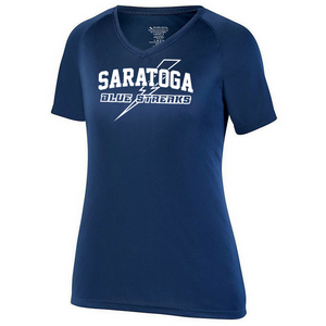 Saratoga Solid Performance Tee- Youth, Ladies, & Men's, 4 Colors