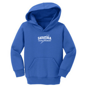 Saratoga Blue Streaks Toddler Hoodie- 3 Colors