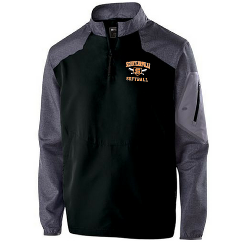 Schuylerville Baseball/Softball 1/4 Zip Pullover- Youth & Adult, 2 Colors