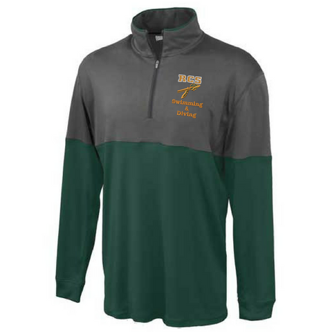 RCS Swimming & Diving 1/4 Zip Pullover