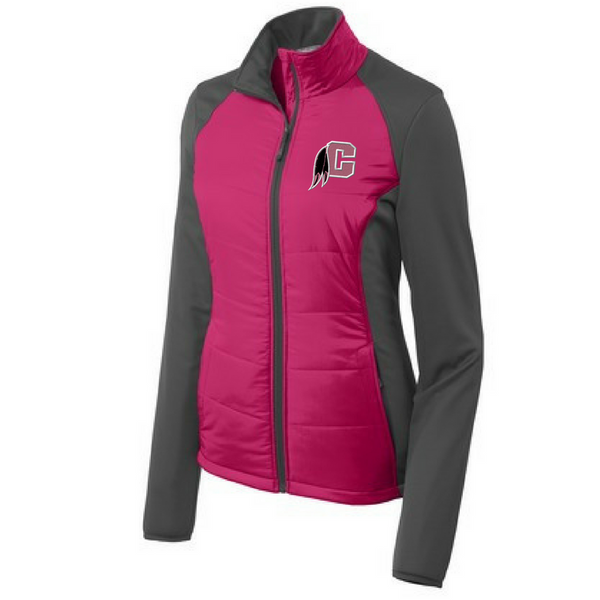 Cambridge Indians Colorblock Soft Shell Jacket: Men's & Ladies (3 Colors)