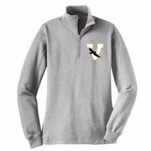 Load image into Gallery viewer, Voorheesville 1/4 Zip Sweatshirt- Ladies & Men's