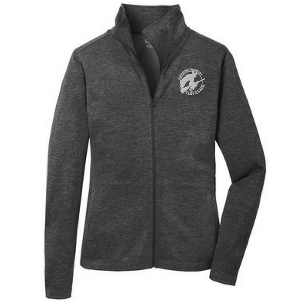 Greenwich Witches Ladies Hooded Full Zip Pixel Jacket