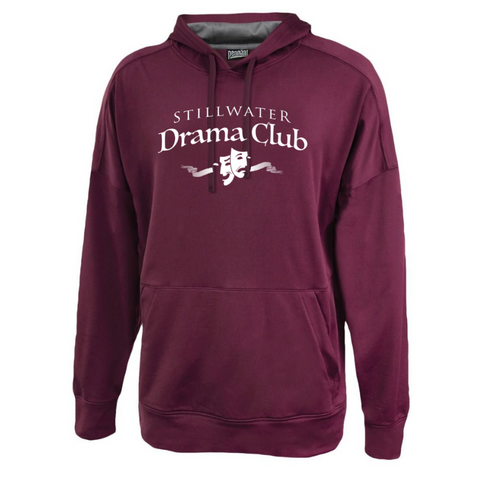 Stillwater Drama Club Lightweight Solid Performance Hoodie- 2 Colors