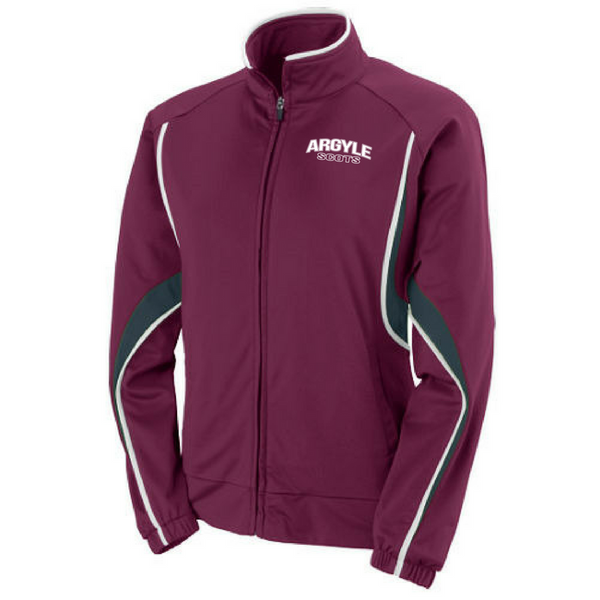 Argyle Scots Full-Zip Performance Jacket- Youth, Ladies, & Men's, 2 Colors
