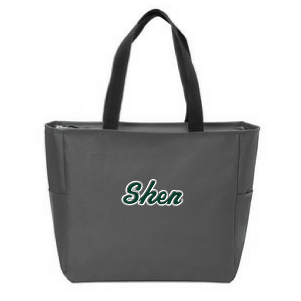 Shen Plainsmen Zipper-Top Tote Bag- 4 Colors