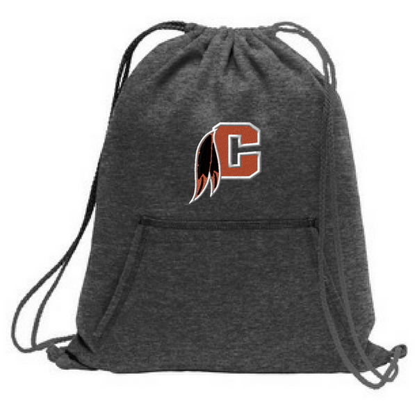 Cambridge Indians Drawstring Sweatshirt Bag