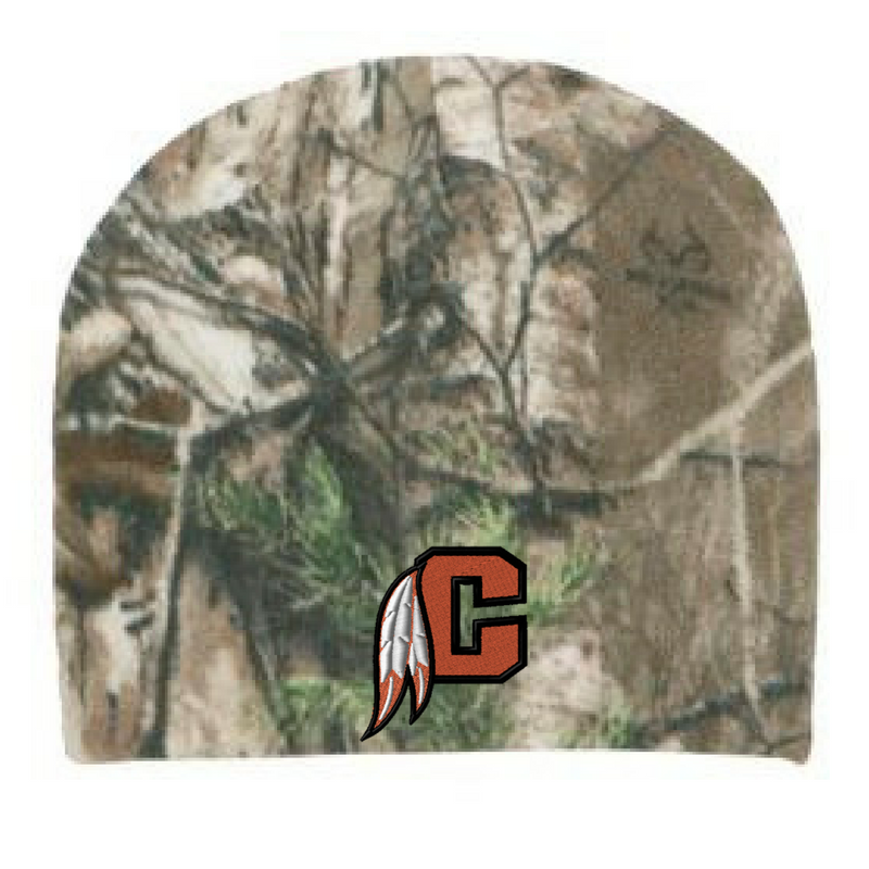 Cambridge Indians Camo Beanie