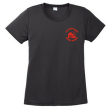 Load image into Gallery viewer, Hayner's Sports Barn Performance T-Shirt- Youth, Ladies, & Men's, 3 Colors