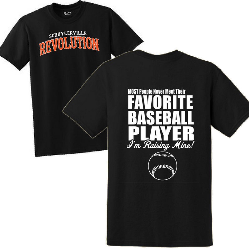 Schuylerville Revolution Favorite Player Tee- Ladies & Men's