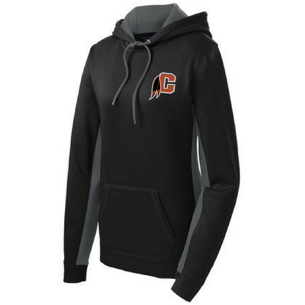 Cambridge Indians Colorblock Performance Hoodie