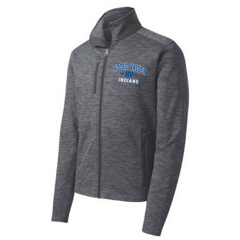 Hoosic Valley Indians Digi Stripe Fleece Jacket