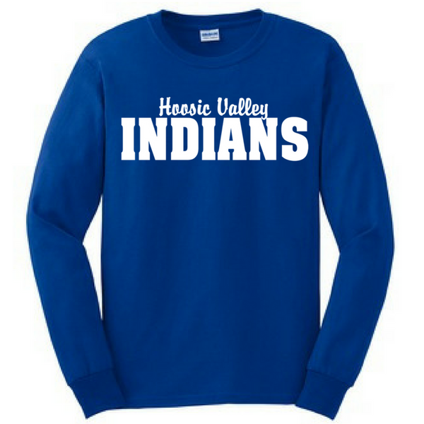 Hoosic Valley Indians Long Sleeve Shirt