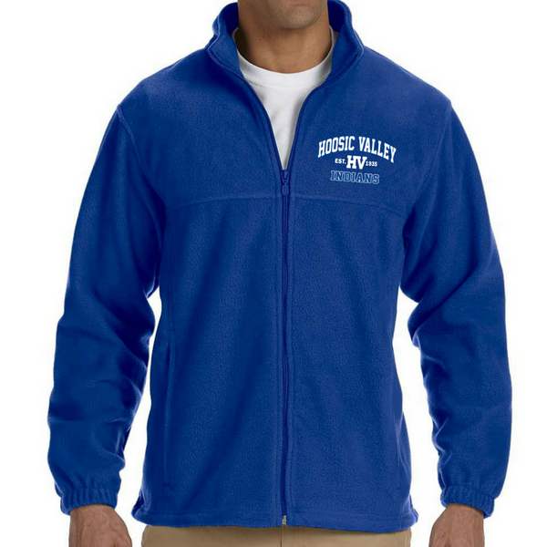 Hoosic Valley Indians Full Zip Fleece (Men's, Ladies' & Youth)