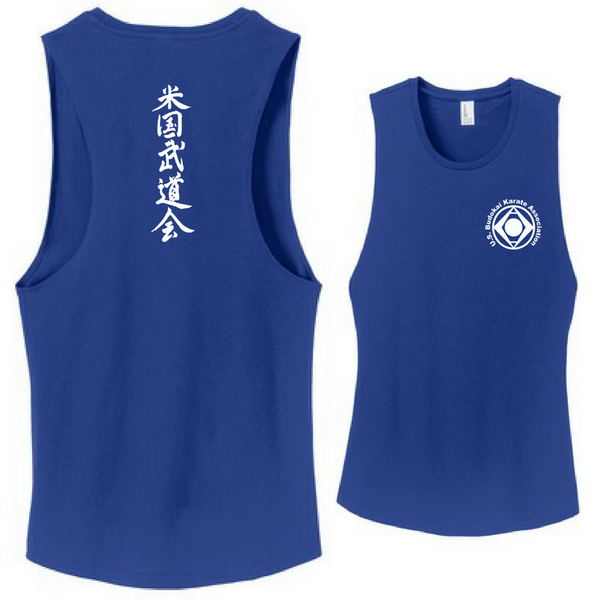 Budokai Ladies Cut-Off Tank - 3 Colors Available